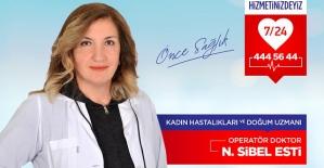 Kadın Hastalıkları ve Doğum Uzmanı Dr. N. Sibel Esti, Özel Siirt İbni Sina Hastanesinde