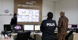 Kaymakam/Belediye Başkan V. Aydın'dan Kent Güvenlik Sistemi Merkezinden Covid-19 Denetimleri