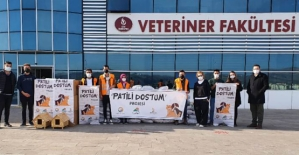Siirt Üniversitesi Patili Dostum Projesini Uygulamaya Başladı