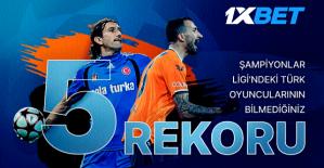 5 Türk Oyuncunun Az Bilinen Şampiyonlar Ligi Rekorları