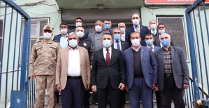 Vali Hacıbektaşoğlu, Gazi ve Şehit Aileleri Dernekler Federasyonunu Ziyaret Etti