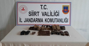 Bölücü Terör Örgütüne Ait Silah ve Yaşam Malzemeleri Ele Geçirildi