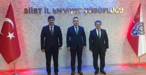 Rektör Şındak, İl Emniyet Müdürü Saruhan Kızılay'ı Ziyaret Etti