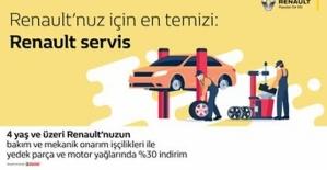 Siirt Renault & Dacia B.Acar Plazada Tüm Bakım ve Mekanik Onarımlarında % 30 İndirim