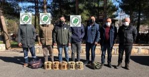 Siirt'te Kaçak Avcılık Yaptıkları Tespit Edilen 3 Şahıs Hakkında Tutanak Tutuldu