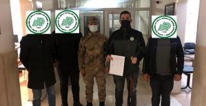Siirt'te Kaçak Avlanma Yapan 3 Kişiye Ceza Kesildi