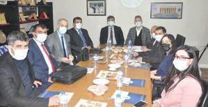 Siirt TSO İle Siirt Üniversitesi Arasında İşbirliğini Geliştirmeye Yönelik Toplantının İkincisi Gerçekleştirildi