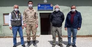 Siirt'te Kaçak Kınalı Keklik Avlanan Kişiye Para Cezası Uygulandı