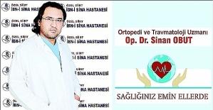 Dr. Sinan Obut, Diz Ağrılarında Eklem...