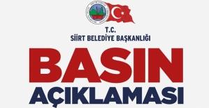 Siirt Belediyesi, HDP Milletvekillini Yalanladı