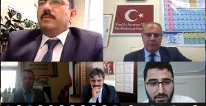 """Siirt Üniversitesinde """"Sözde Ermeni Soykırımı İddialarının Asılsız Olduğuna Dair Kanıtlar"""" Adlı Çevrim İçi Sohbet Gerçekleştirildi"""