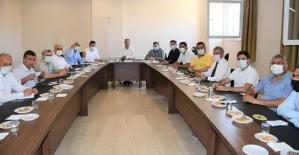İlçe Millî Eğitim Müdürleri ile Değerlendirme Toplantısı Yapıldı