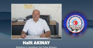 Belediye-İş Sendikası Siirt Şubesi...