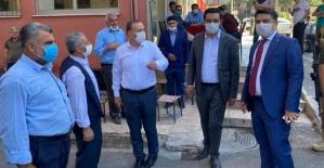 Milletvekili Ören ve Başkan Olgaç Baykan'da Esnaflarla Buluştu