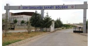 Siirt Organize Sanayi Bölgesine Doğal Gaz Geldi