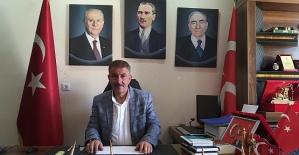 MHP Siirt il Başkanı Fatih Cantürk...