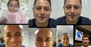 Osman Ören, SMA Hastası Eflin Lina Bebeğe Canlı Yayında 425 Bin TL Bağış Topladı