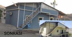 Örnek Din Görevlisi Davut Kaylı, Kendi Çabasıyla Sponsor Bulup Köy Camisini Baştan Yeniledi