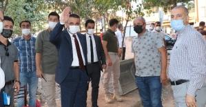 Vali Hacıbektaşoğlu, Hz. Fakirullah (Güres) Caddesindeki İyileştirme Çalışmalarını İnceledi
