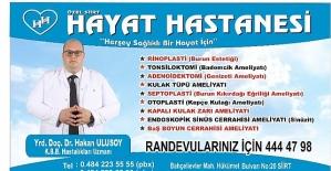 Yrd. Doç. Dr. Hakan Ulusoy, Piezo Yöntemi İle Rinoplasti (Burun Estetiği) Ameliyatlarına Başlıyor