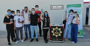 Üniversite Öğrencileri 'En İyi Narkotik Polisi Anne' Projesi Hakkında Bilgilendirildi