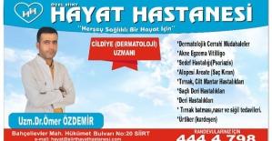 Dr. Ömer Özdemir, Tırnak Tümörleri ve Tedavi Yöntemleri Hakkında Bilgi Verdi