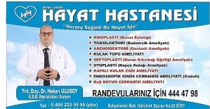 Yrd. Doç. Dr. Hakan Ulusoy, Piezo Yöntemi İle Rinoplasti (Burun Estetiği) Ameliyatlarına Başladı