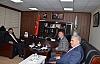 Rektör Erman, Kurtalan Belediye Başkanı Karaatay'ı Ziyaret Etti