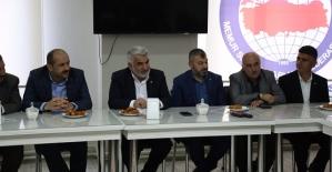HÜDA PAR Genel Başkanı Yapıcıoğlu, STK'larla Bir Araya Geldi