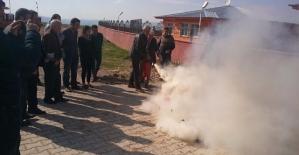 Engelsiz Yaşam Bakım ve Rehabilitasyon Merkezinde Yangın Tatbikatı