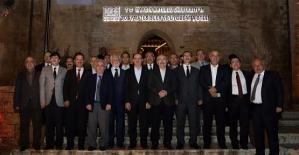 Rektör Erman, Mardin'de Düzenlenen Bölge Üniversiteleri Toplantısına Katıldı