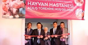 Siirt Üniversitesinde Hayvan Hastanesi Açıldı