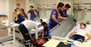 Devlet Hastanesinde Yangın Tatbikatı