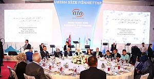 Aktay, Sancak ve Kuzu, ATO'nun İftarına Katıldı