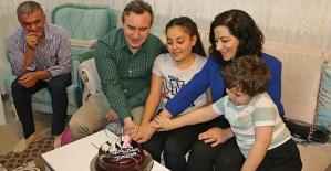 Belediye Başkanı Taşkın'dan Doğum Günü Süprizi