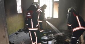 İtfaiye Çıkan Yangına Kısa Sürede Müdahale Etti