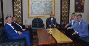 İlçe Belediye Başkanlarından Vali Atik'e Hoşgeldin Ziyareti