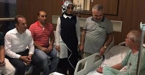 AK Parti İl Başkanı Çalapkulu'dan Hasta Ziyaretleri