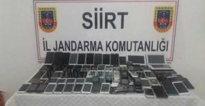 10 Bin TL Değerinde Kaçak Cep Telefonu Yakalandı