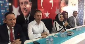 AK Parti İl Başkanlığında Bayramlaşma Yapıldı