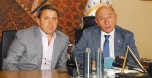 Başkan Kuzu, Nihat Özdemir'le Birlikte İşsizlik ve Ulaşım Sorununu Çözeceğiz