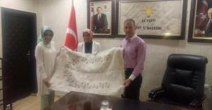 Erzurum Milletvekili Taşkesenlioğlu, AK Parti İl Başkanı Çalapkulu'yu Ziyaret Etti