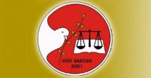 Siirt Baro Başkanlığının, Adli Yıl Açılışı Açıklaması