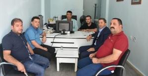 Siirt TSO Başkanı Kuzu, Basın Mensuplarını Ziyaret Etti