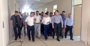 Siirt Üniversitesi İlahiyat ve Ziraat Fakültesi Binalarının İnşaatlarında Sona Gelindi