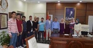 AK Parti'den Kaymakam Çotu'ya Hayırlı Olsun Ziyareti