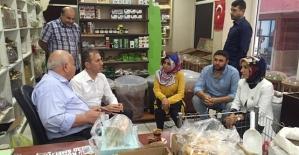 AK Parti Siirt İl Teşkilatı Yaşlıları Unutmadı