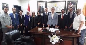 İKEF Başkanı Çelik, AK Parti İl Başkanı Çalapkulu'yu Ziyaret Etti