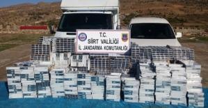 24 Bin 500 Paket Kaçak Sigara Ele Geçirildi