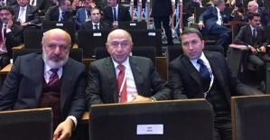 """Kuzu, Sancak ve Özdemir """"Ankara'nın Enleri"""" Ödül Törenine Katıldı"""